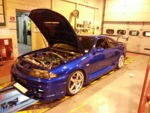 Nissan Skyline getting yet another modification