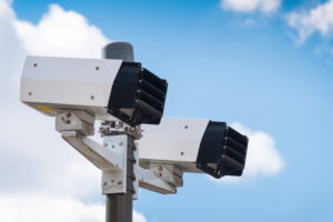 Speed cameras looking for speeding cars