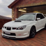 Subaru Impreza STI Take 2 slider card