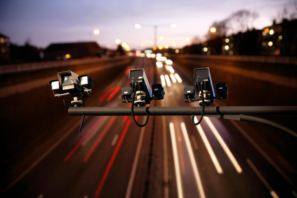 cameras on motorway