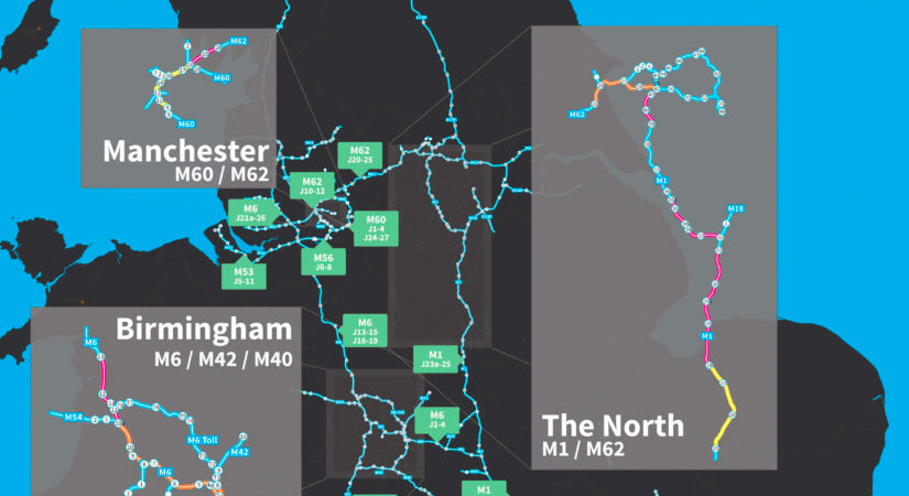 Smart Motorways – Smart Motorway Map
