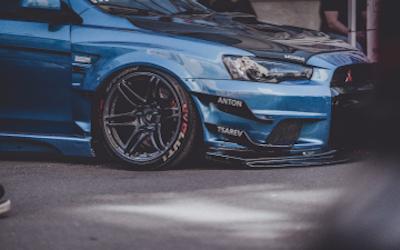 Mitsubishi performance car