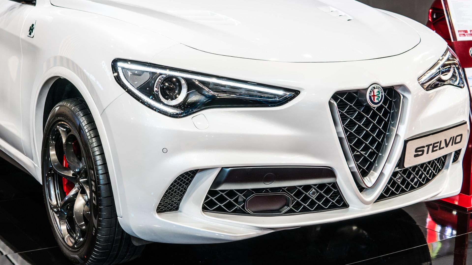 Alfa Romeo Stelvio Car Insurance Header Image