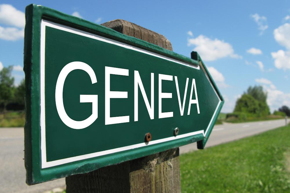 2020 geneva motor show sign