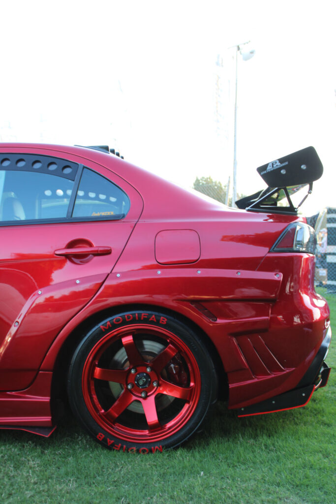 modified car with bodykit